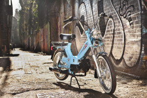 The classic Tomos scooter heads to the UK this summer