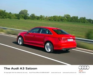 Three million and counting - Production of the Audi A3 began in 1996, and has this week passed the three million cars mark.
