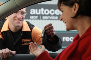 The price of a service drops at Halfords Autocentres