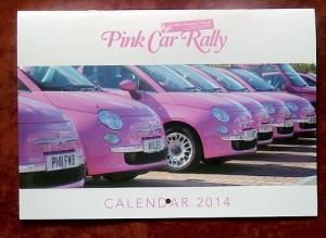 Pink Car Rally 2014 calendar hits the road