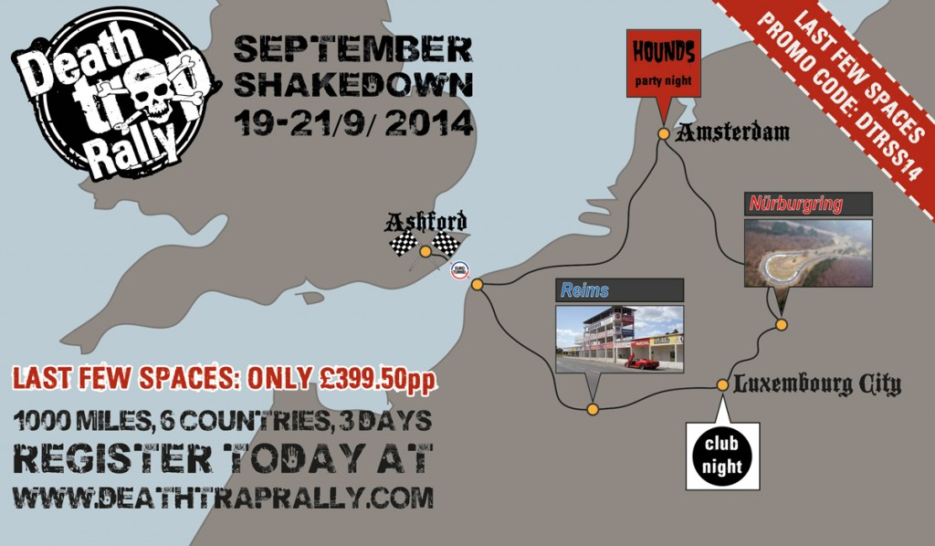 Death Trap Rally September Shakedown