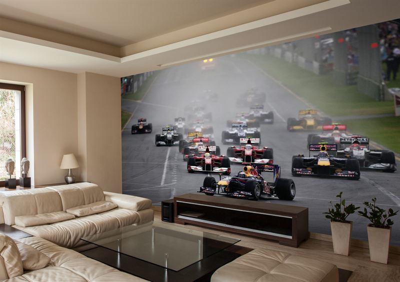Start of the Australian Grand Prix 2010
