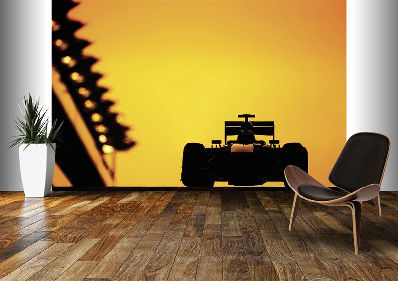 Bespoke wall coverings feature amazing f1 and classic for Amazing wall coverings