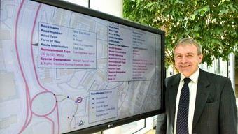Transport Minister Robert Goodwill