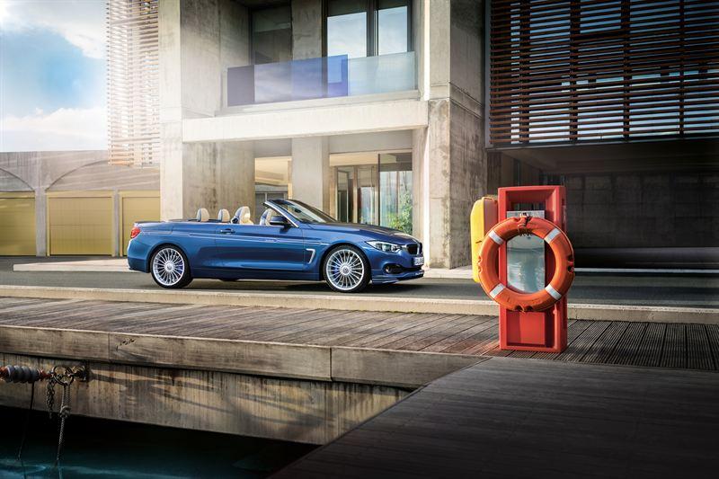 The new ALPINA B4 Bi-Turbo Convertible