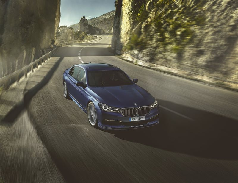 The new ALPINA B7 Bi-Turbo combines sumptuous luxury with 0-60 in just 4.0 seconds (UK specification, RWD)