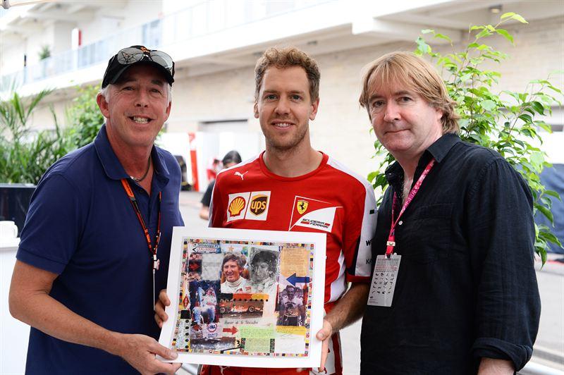 Vettel World Champions in Art